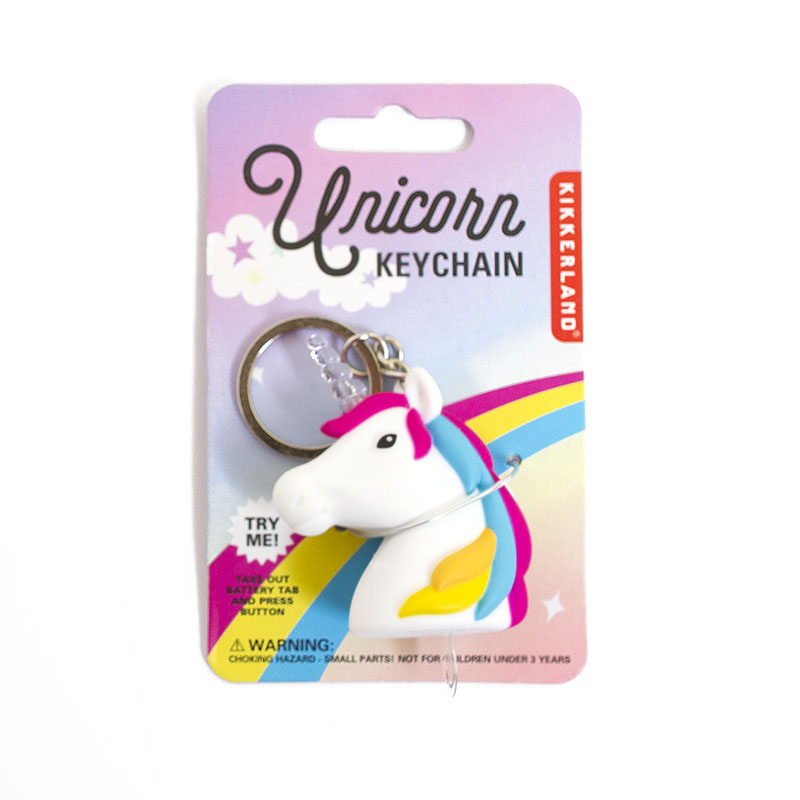 LED, Unicorn, Keychain