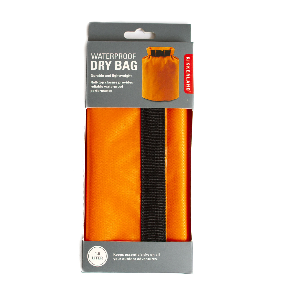 Kikkerland, Dry Bag, Orange