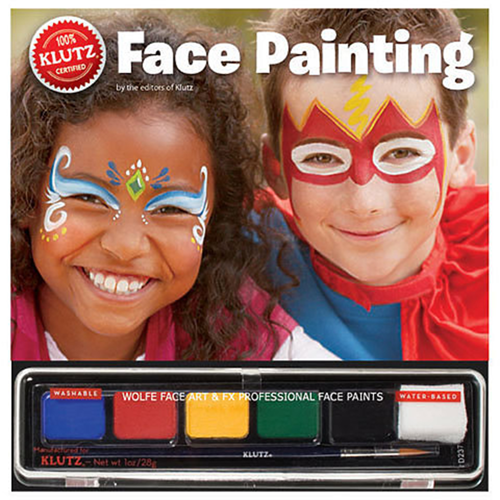 Klutz, Art Kit, Face Painting, Book