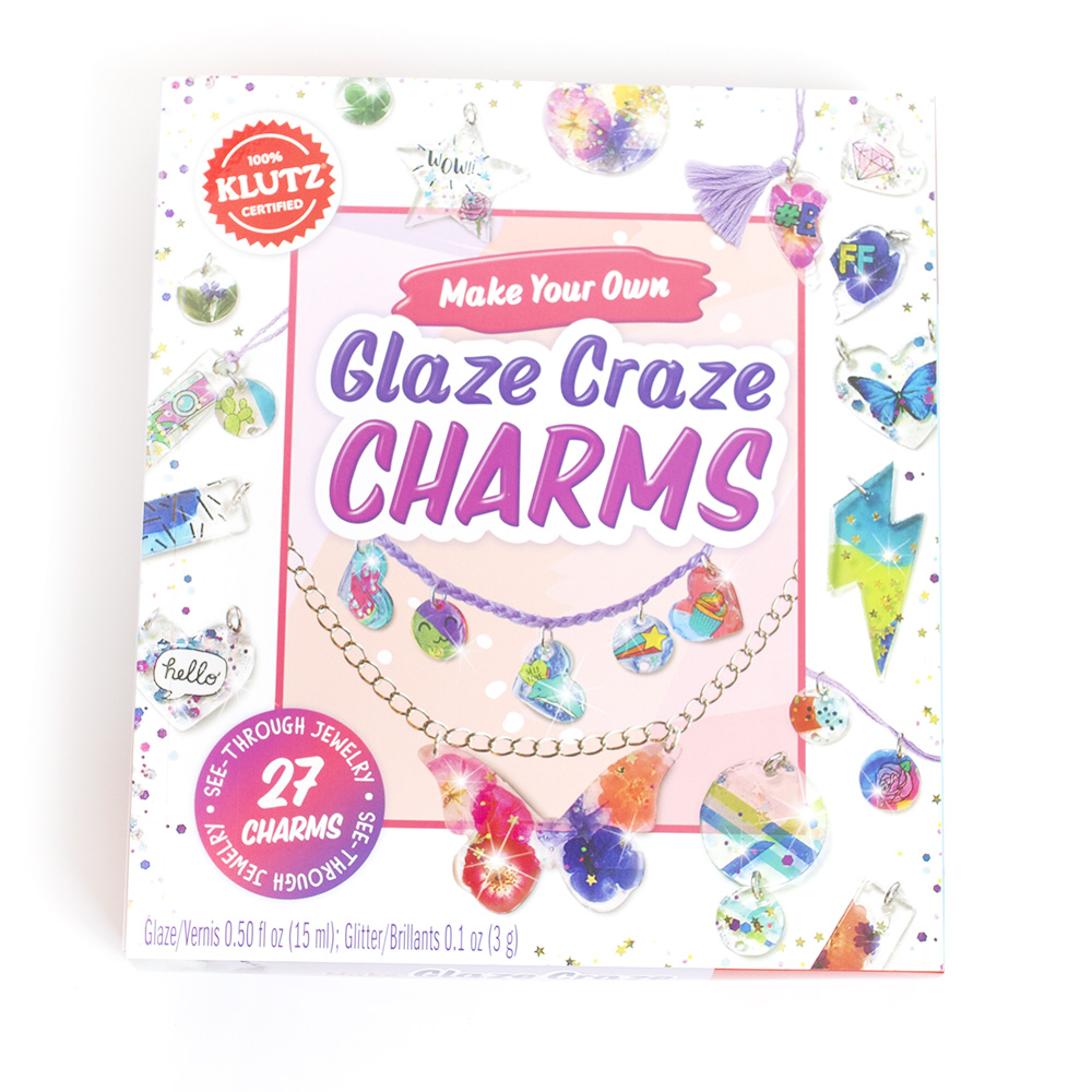 Klutz, Art Kit, Glaze Craze Charm