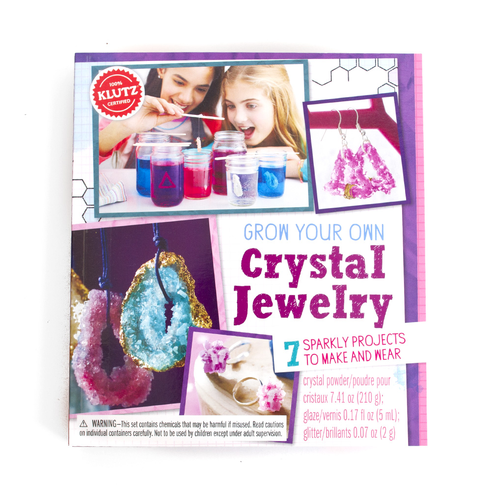 Klutz, Art Kit, Grow Your Own Crystal, Jewelry Kit