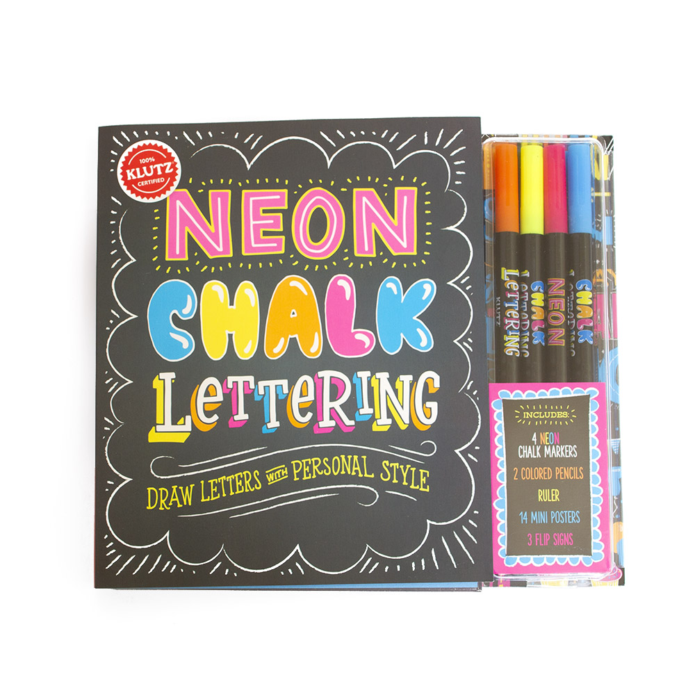 Klutz, Art Kit, Chalk Lettering
