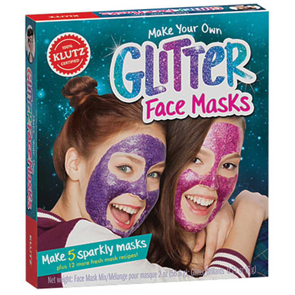 Klutz, Make Your Own, Glitter Face Mask, Kit