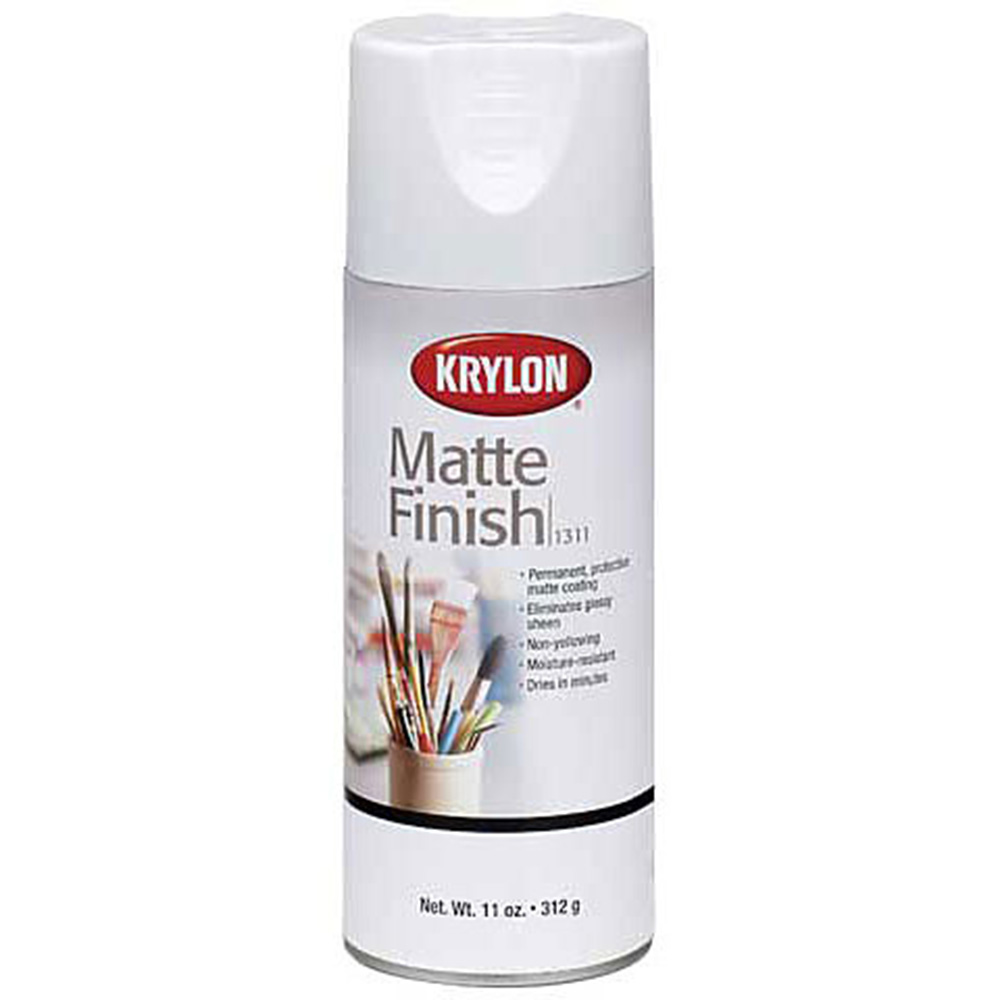 Krylon, Mattle, Spray