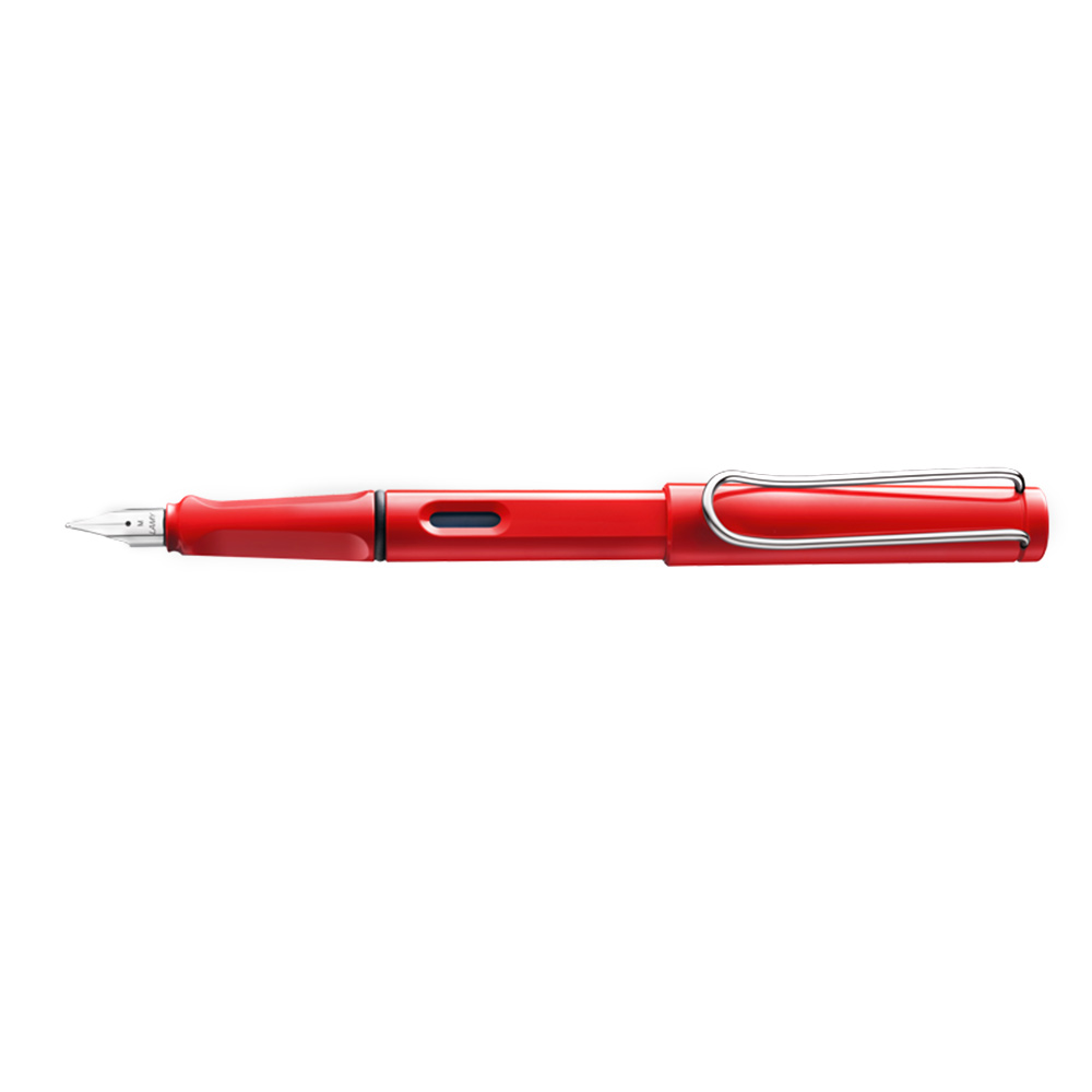 Lamy Safari Fountain Pens Bold_Red