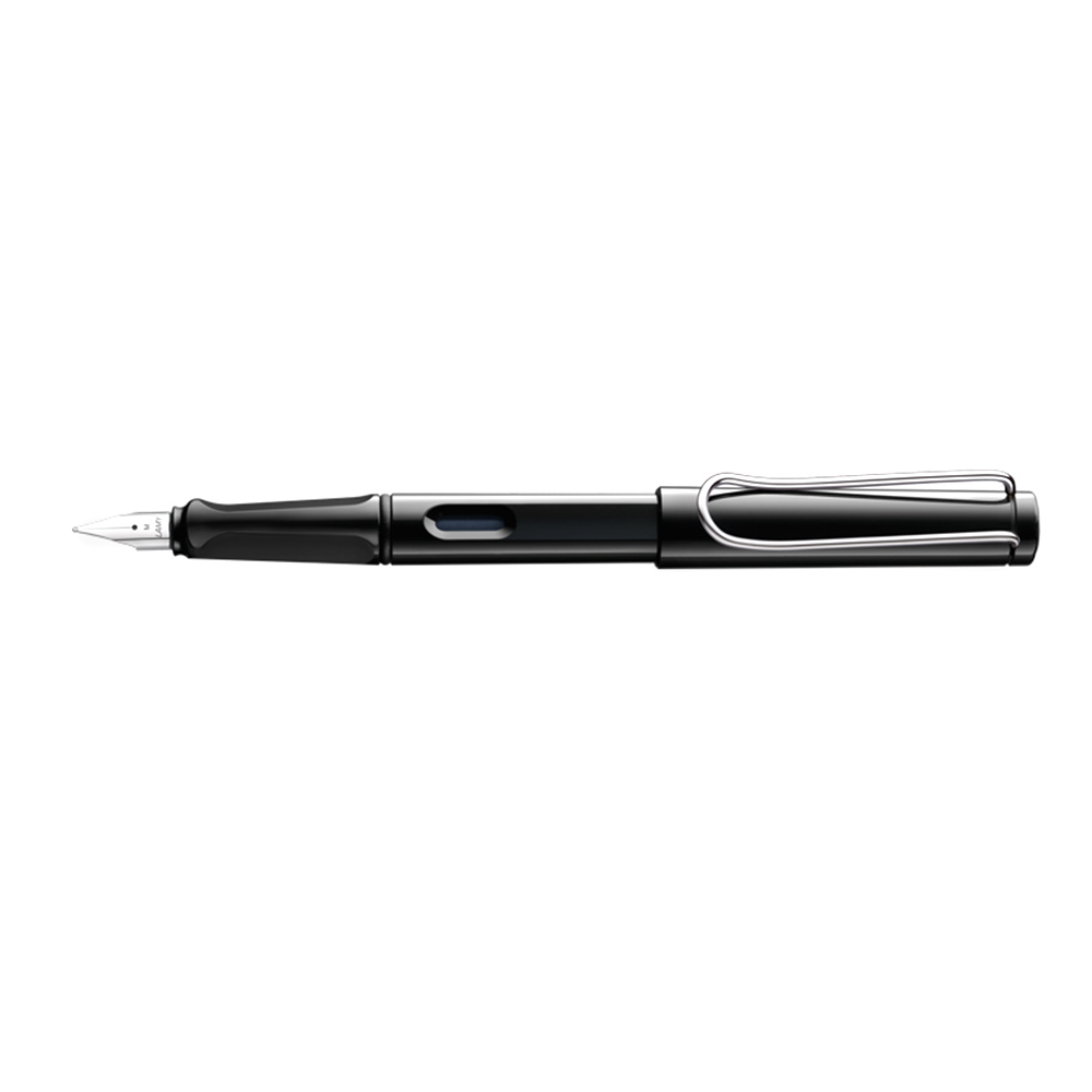 Lamy Safari Fountain Pens Bold_Shiny Black
