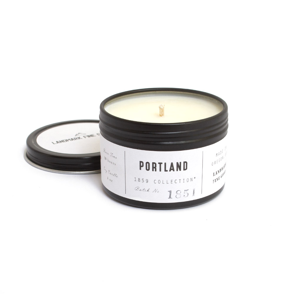 Landmark Fine Goods, Candle, 4 ounce
