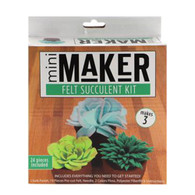 Leisure Arts, Felt Succulent, Kit