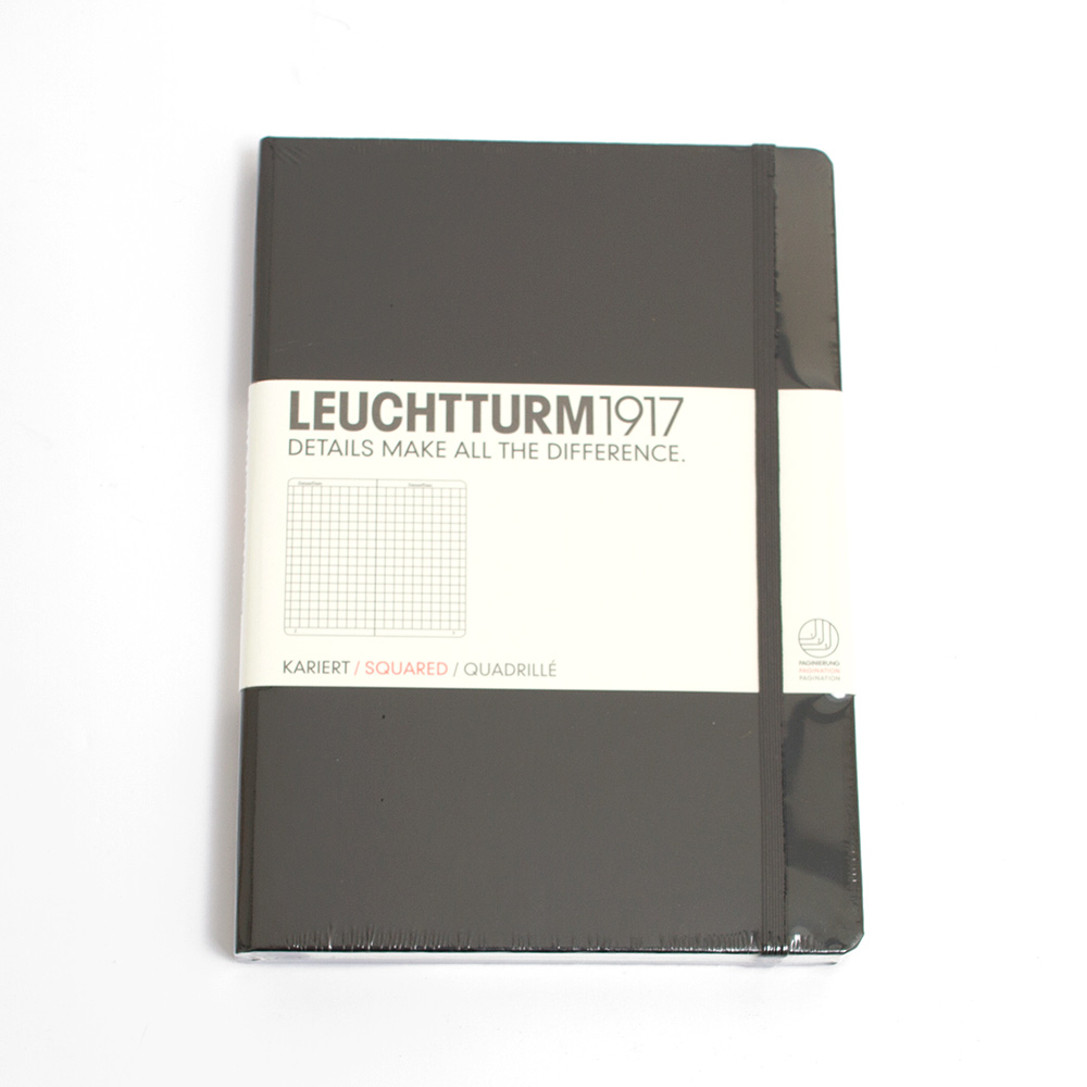 Leuchtturm, A5, Hardcover, Squared
