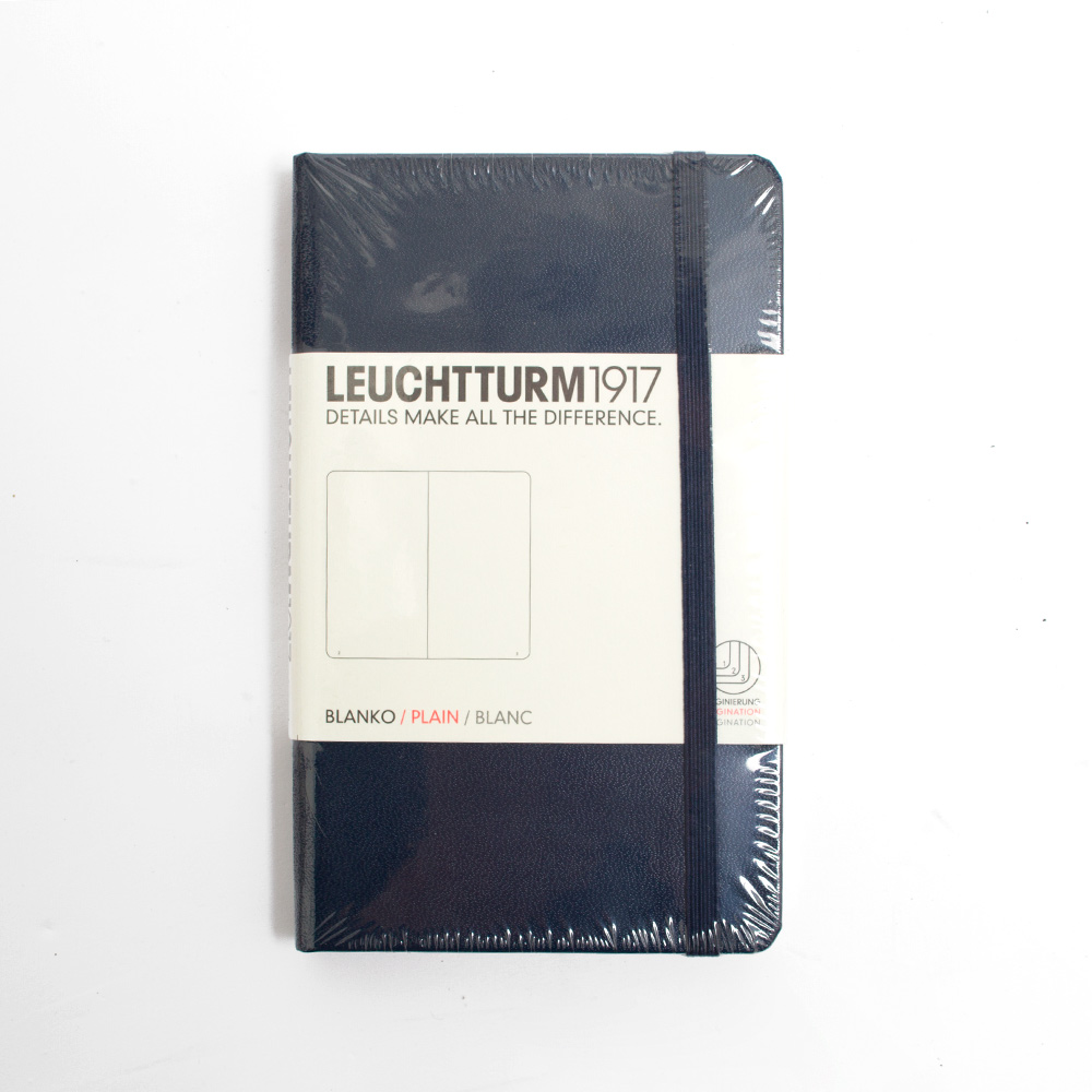 Leuchtturm, Pocket, A6, Plain