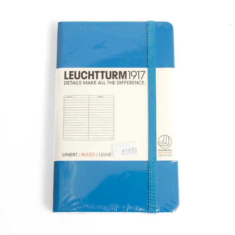 Leuchtturm, Pocket, Hardcover,Ruled