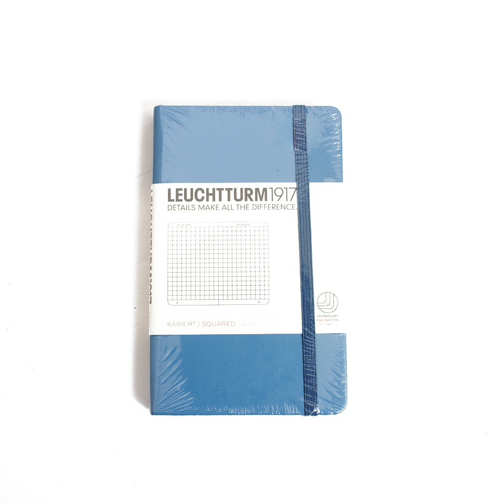 Leuchtturm, Pocket Hardcover, A6, Squared