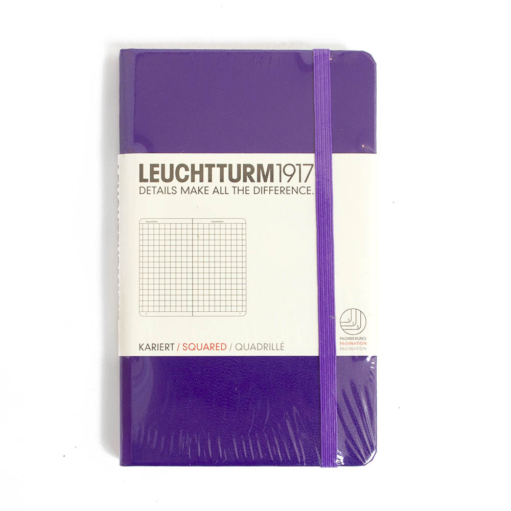 Leuchtturm, Hardcover, A6, Squared