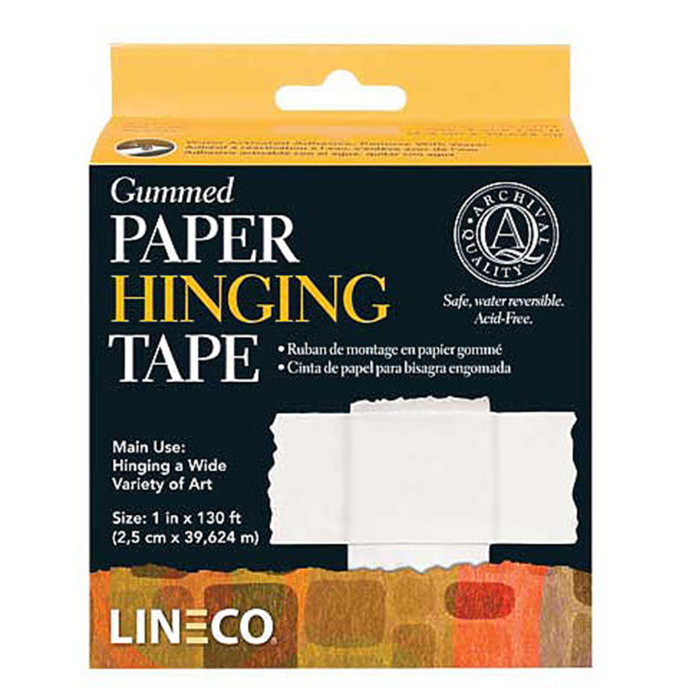 Lineco, Framing Hinging, Gummed Paper, Tape