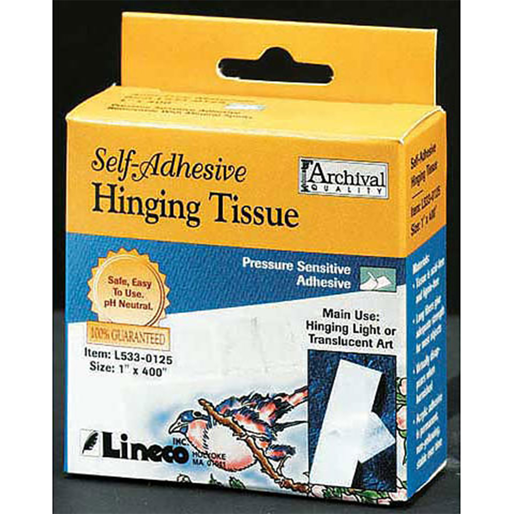 Lineco, Hinging Tissue, Self Adhesive
