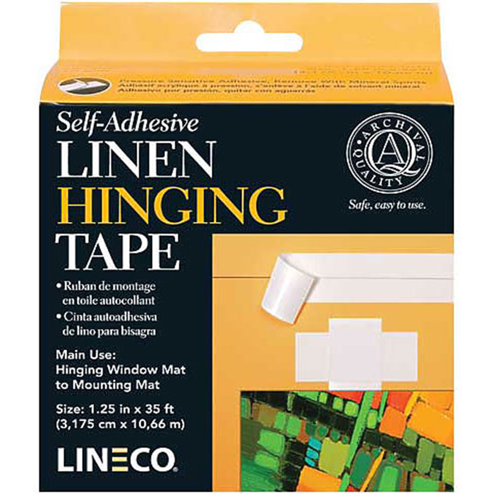 Lineco, Linen, Hinging Tape, Self Adhesive