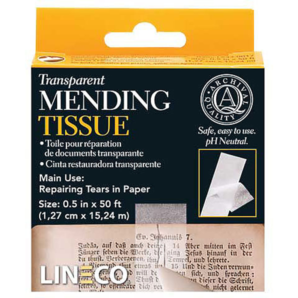 Lineco, Transparent, Mending Tissue