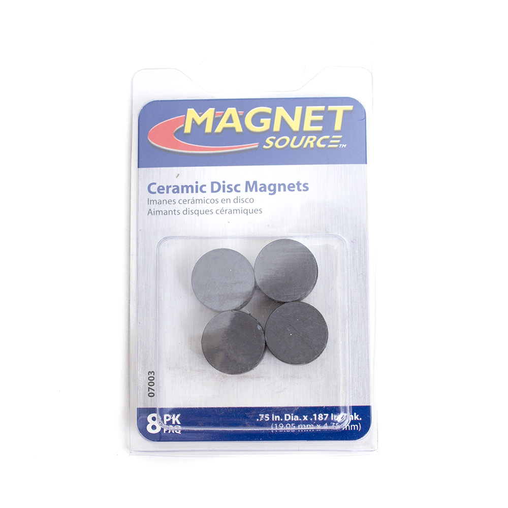 magnet source ceramic black
