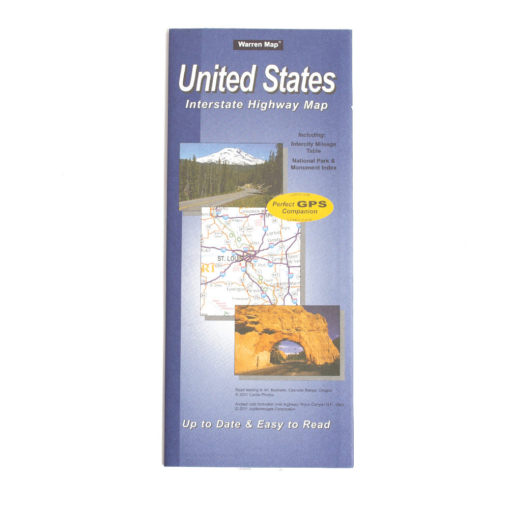 Map, United States of America, Interstate Highway