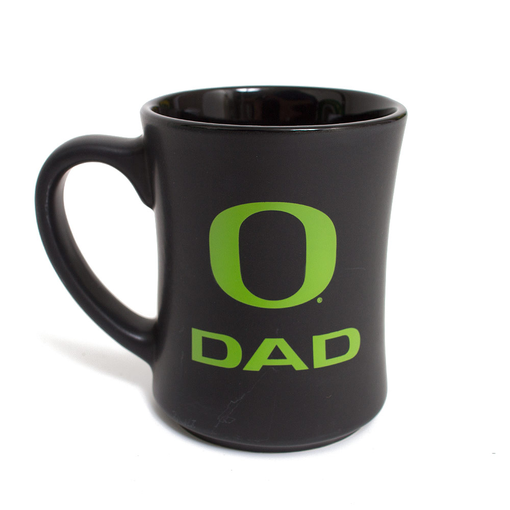 Matte Black and Apple O Dad Mug 16oz