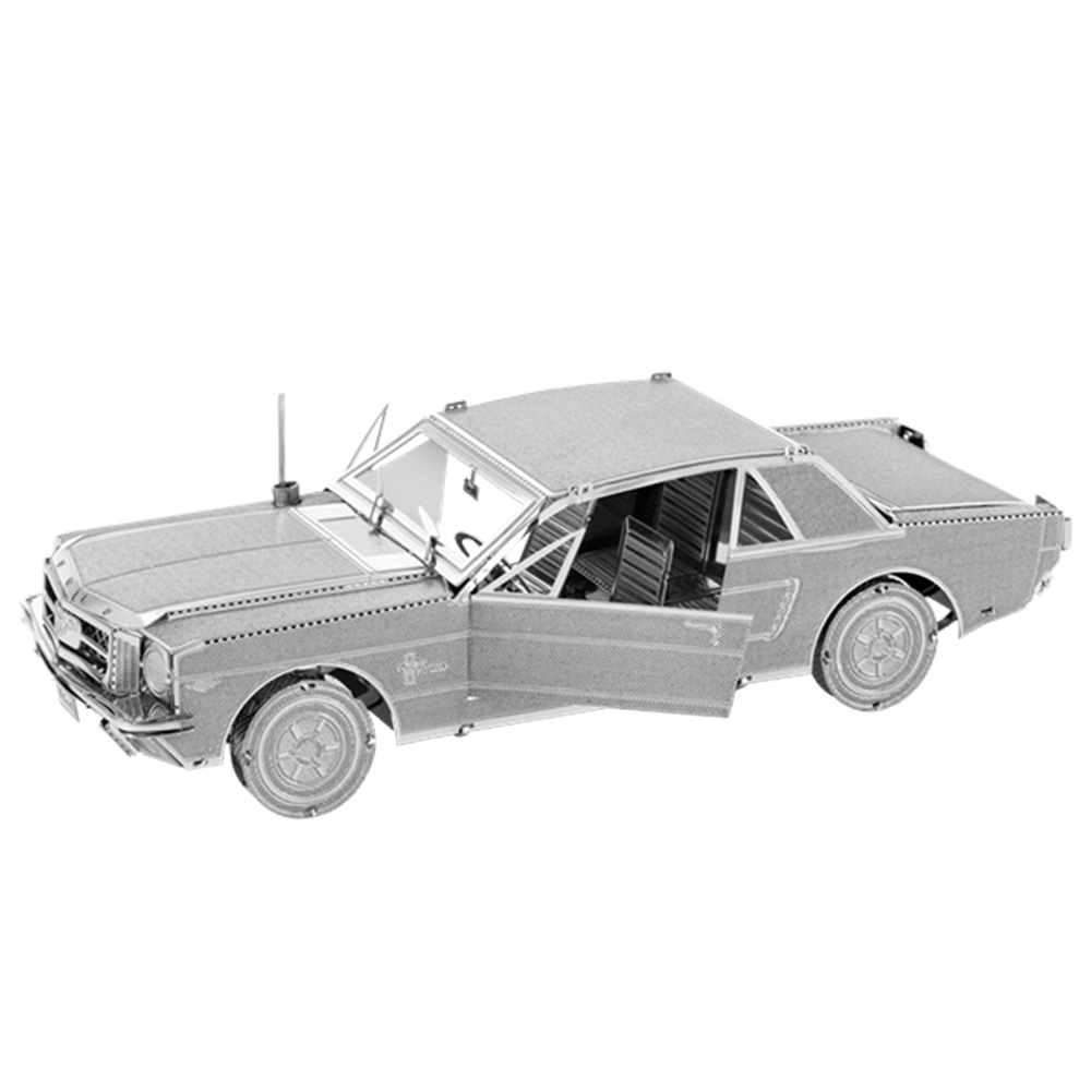 Metal Earth, 3D Model Kit, Metal, Ford Mustang