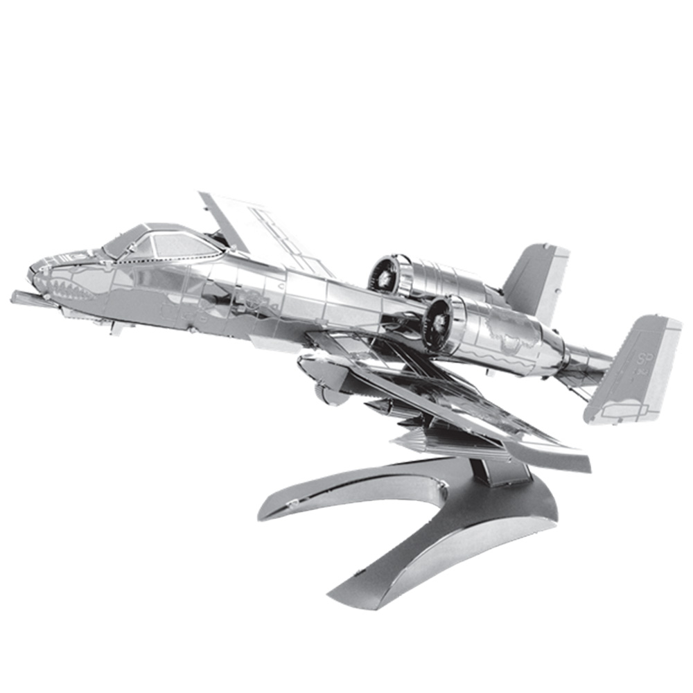 Metal Earth, 3D Model Kit, Metal, A-10 Warthog