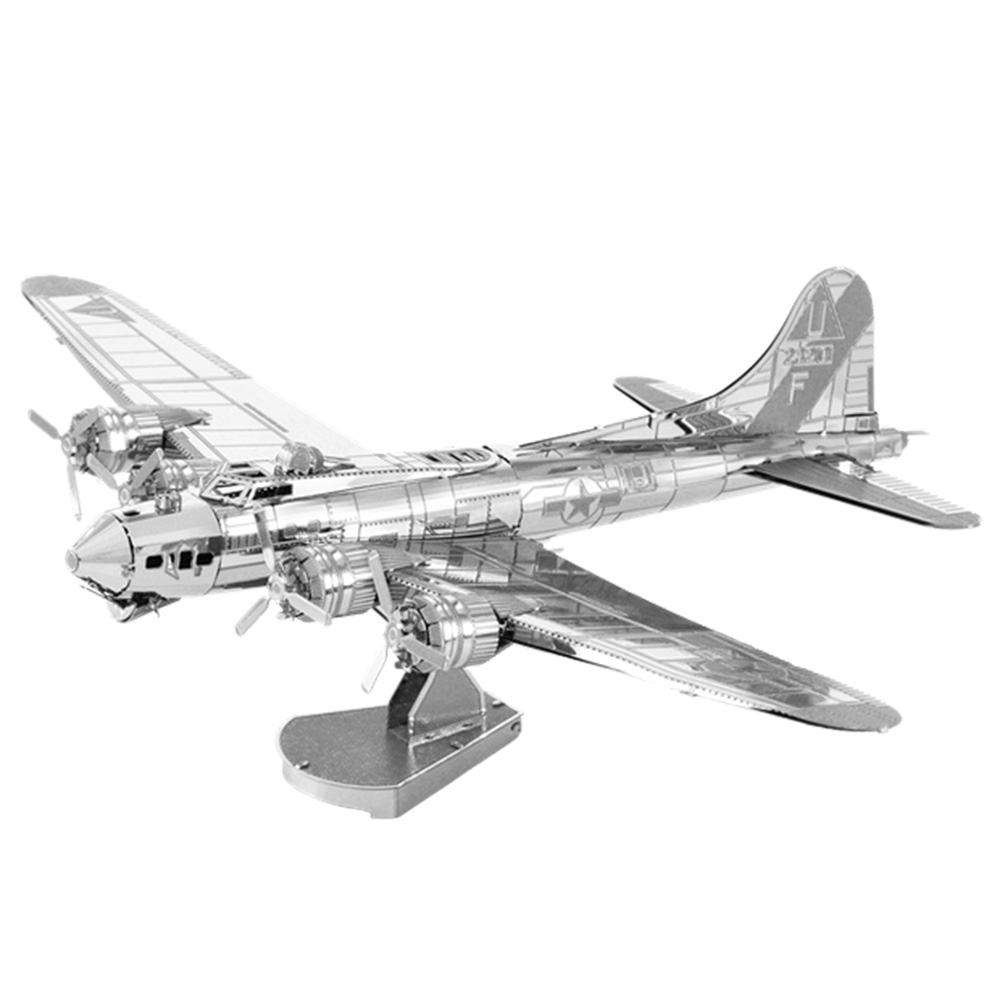 Metal Earth, 3D Model Kit, Metal, B-17 Flying Fortress