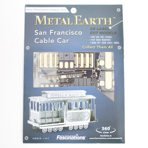 Metal Earth Model Kit Cable Car