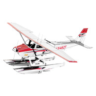 Metal Earth, 3D Model Kit, Metal, Cessna 182 Floatplane