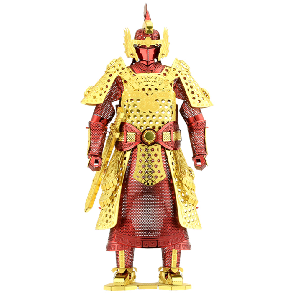 Metal Earth, 3D Model Kit, Metal, Ming Armor