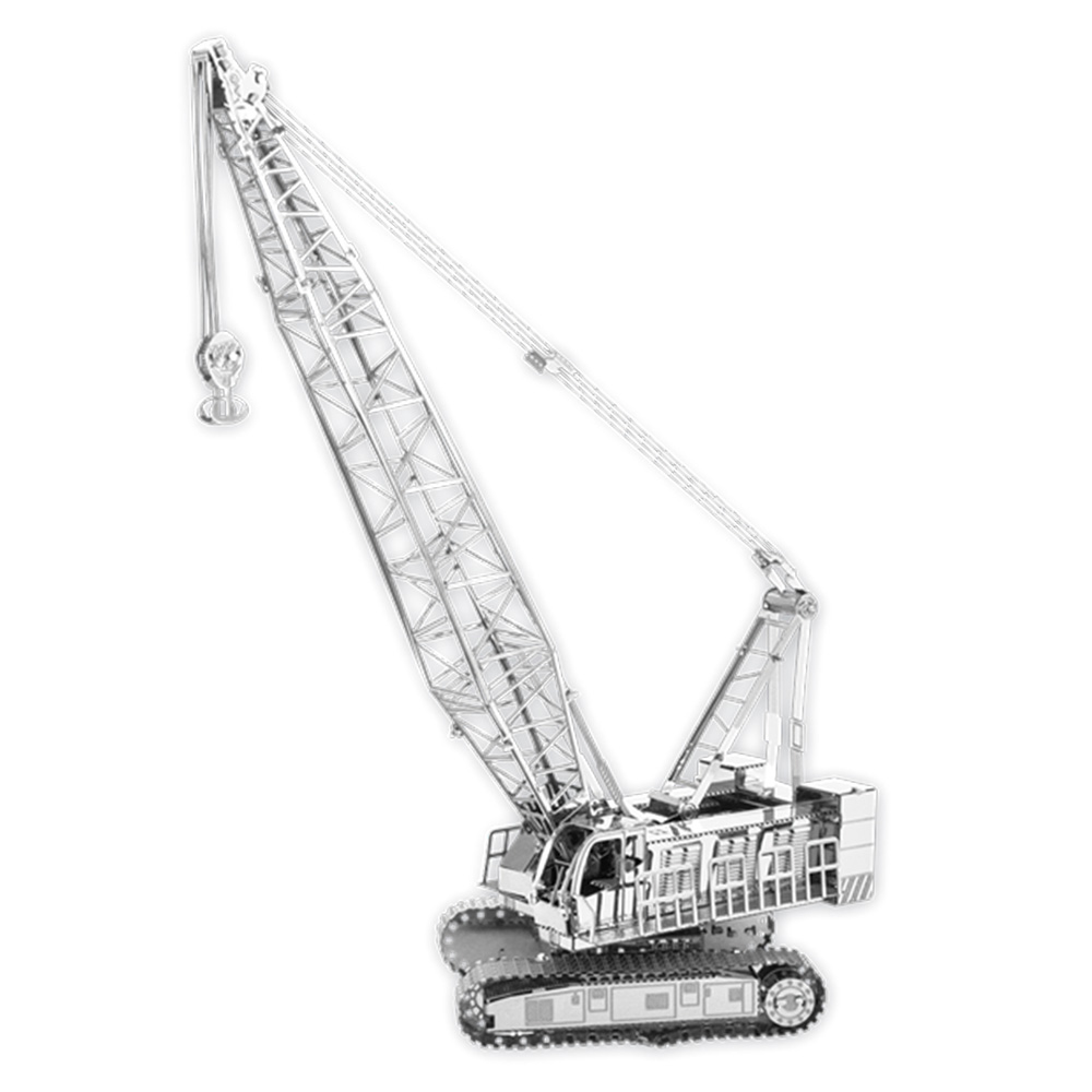 Metal Earth, 3D Model Kit, Metal, Crane