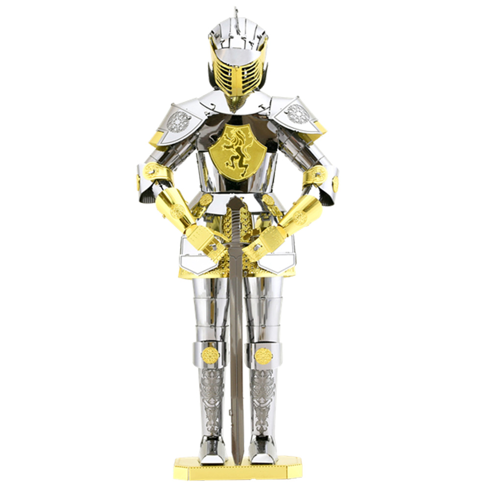 Metal Earth, 3D Model Kit, Metal, European Armor