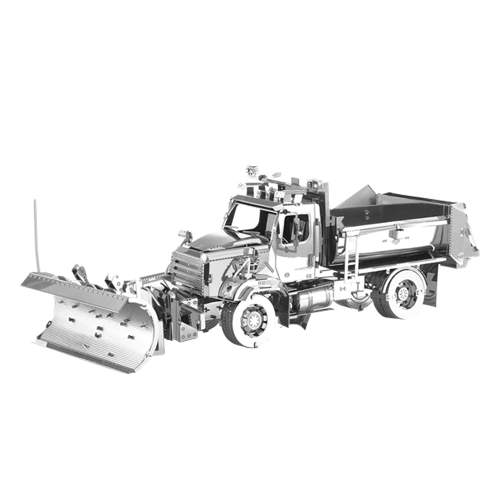 Metal Earth, 3D Model Kit, Metal, 114SD Snow Plow