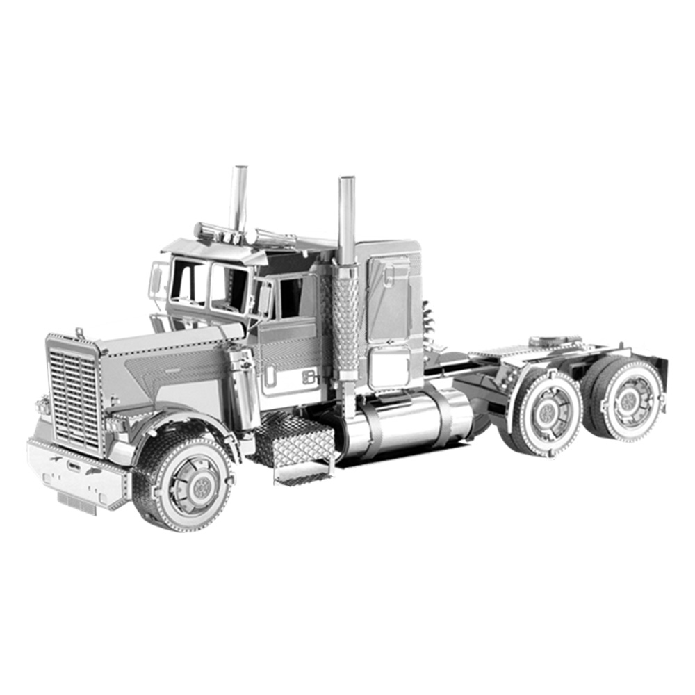 Metal Earth, 3D Model Kit, Metal, FLC Long Nose Truck