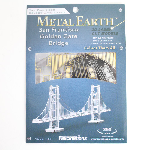 Metal Earth Model Kit Golden Gate Bridge