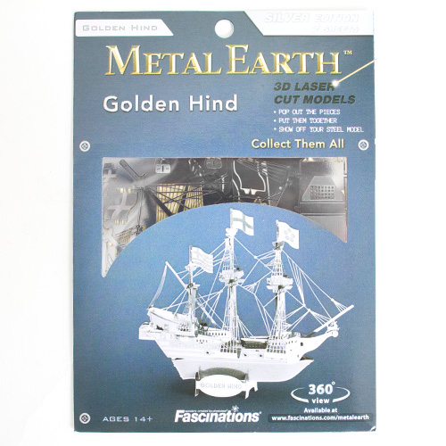 Metal Earth Model Kit Golden Hind
