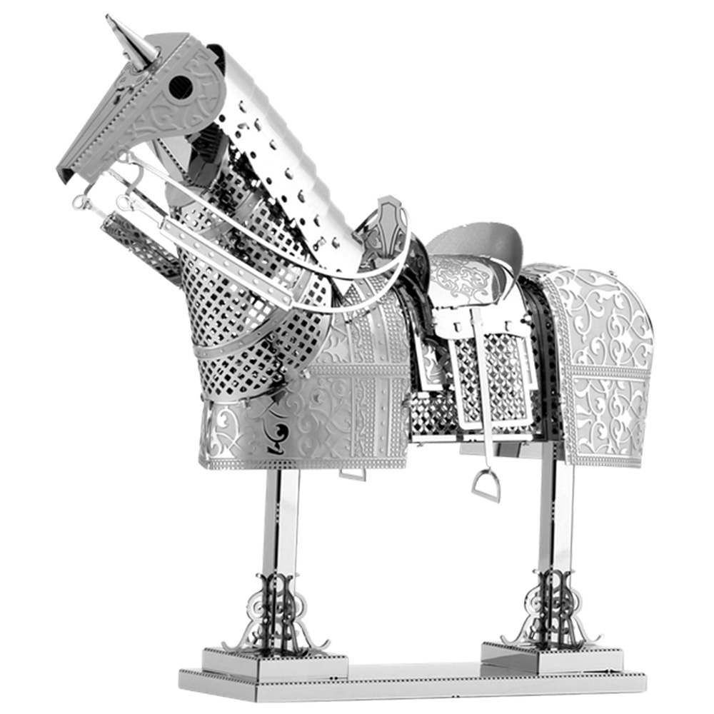 Metal Earth, 3D Model Kit, Metal, Horse Armor