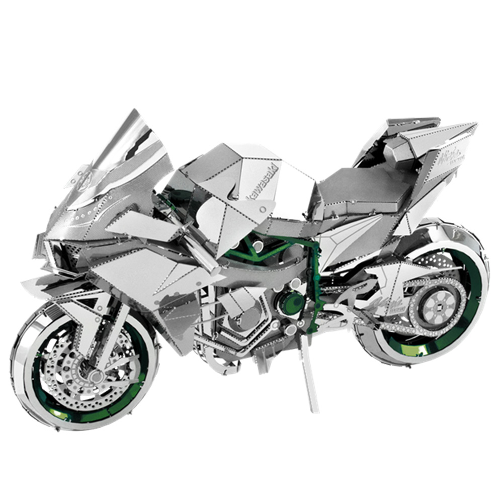 Metal Earth, 3D Model Kit, Metal, Kawasaki Ninja