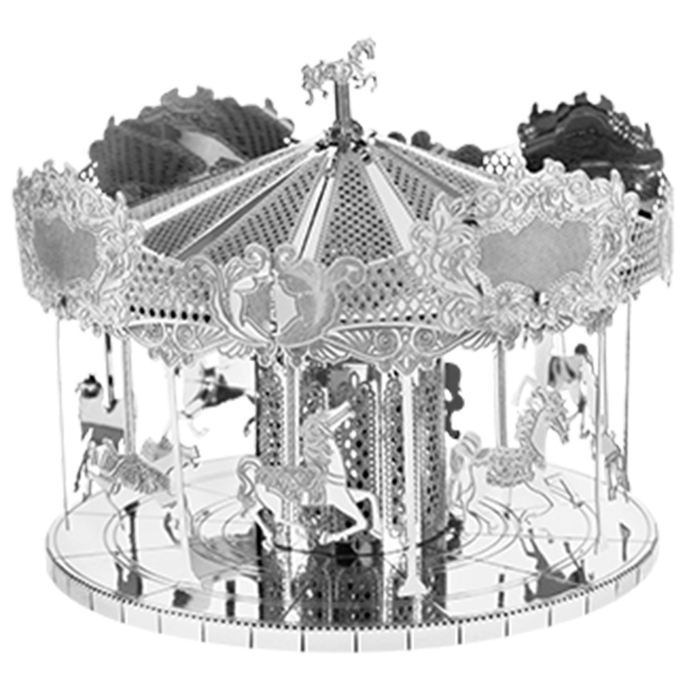Metal Earth, 3D Model Kit, Metal, Merry Go Round