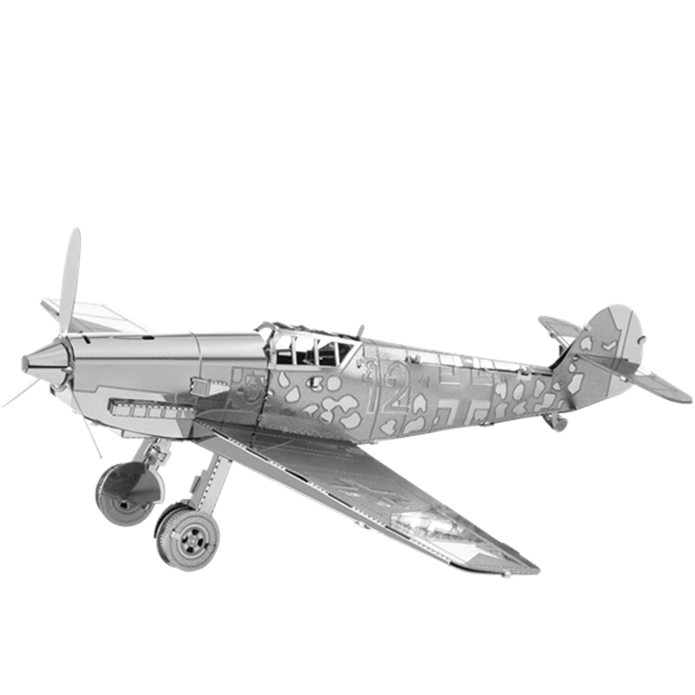 Metal Earth, 3D Model Kit, Metal, Messerschmitt BF-109