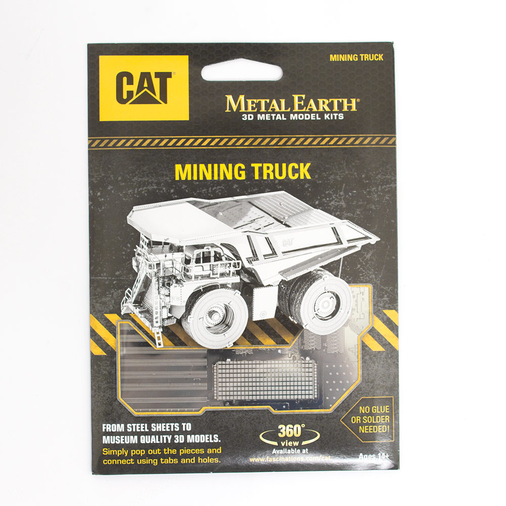 Metal Earth, Kit, Mining Truck