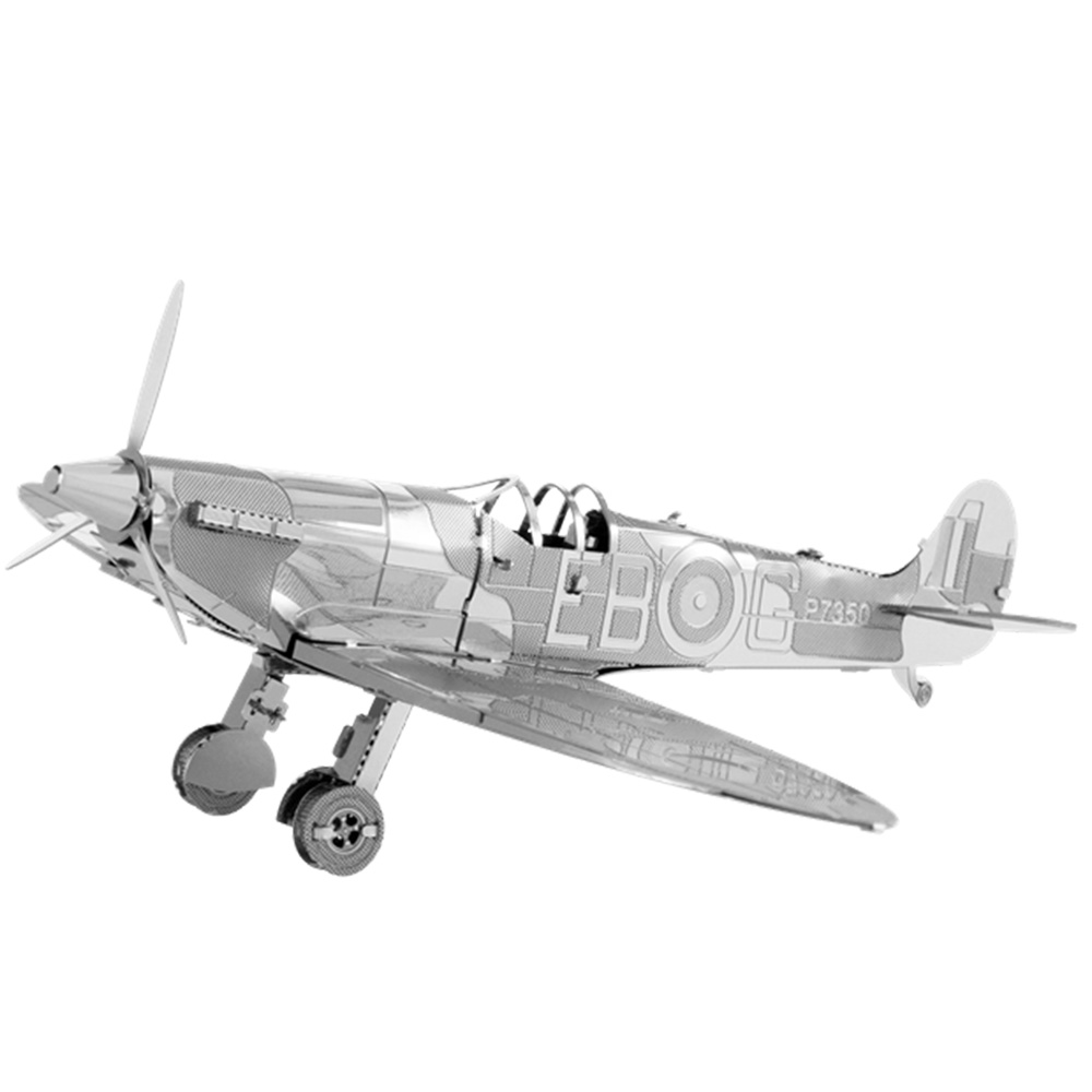Metal Earth, 3D Model Kit, Metal, Supermarine Spitfire
