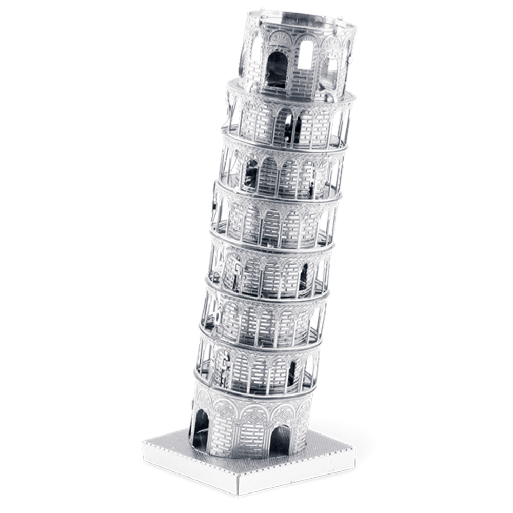 Metal Earth, 3D Model Kit, Metal, Leaning Tower of Pisa