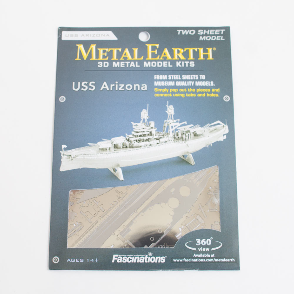 Metal Earth, Model Kit, USS Arizona
