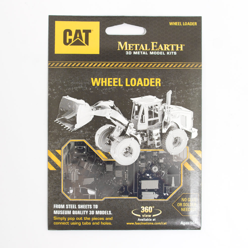 Metal Earth, Kit, Wheel Loader