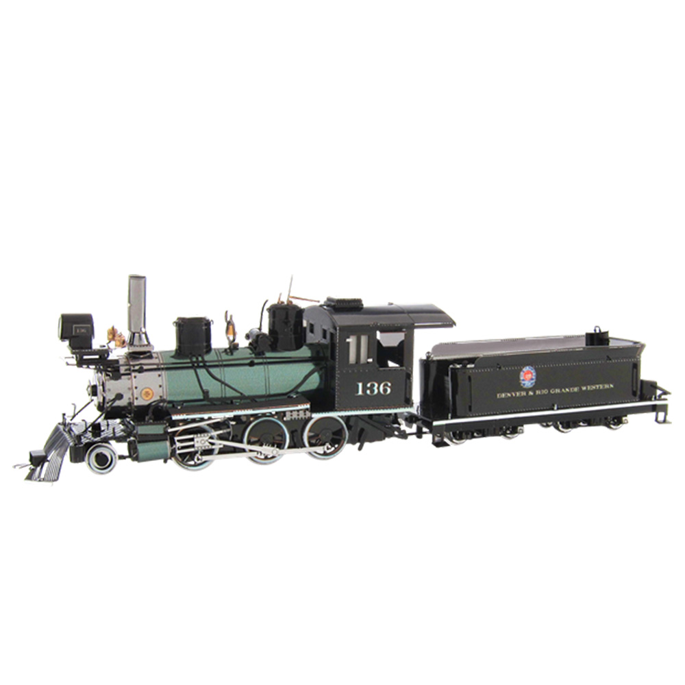 Metal Earth, 3D Model Kit, Metal, Locomotive