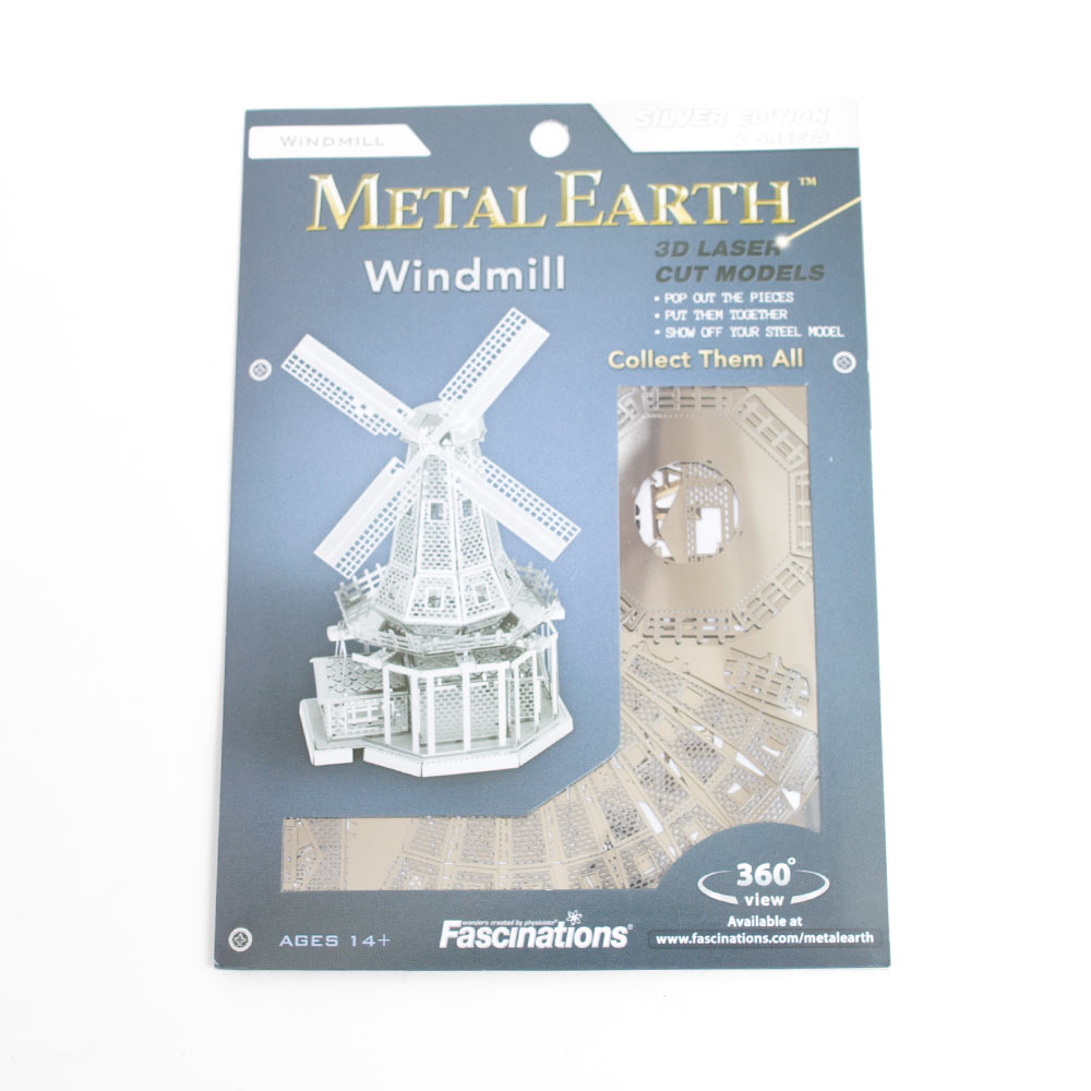 Metal Earth, Model Kit, Windmill