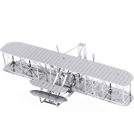 Metal Earth, 3D Model Kit, Metal, Wright Brothers Flyer