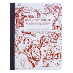 Michael Roger Press Decomp Book African Safari 9 x7