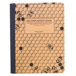 Michael Roger Press Decomp Book Honeycomb 9 x7